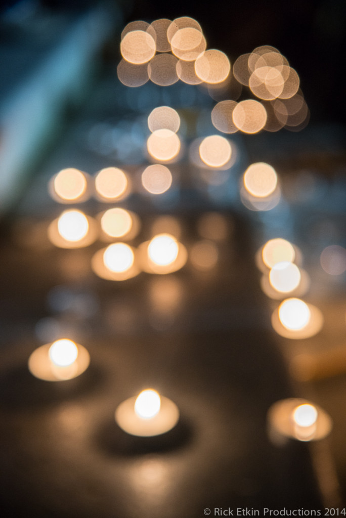 """Je Suis Charlie' Slient Vigil at Vancouver Art Gallery Jan 7 2014"