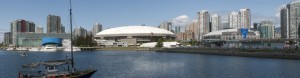 BC Place roof comes down