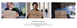 Gratitude week Series