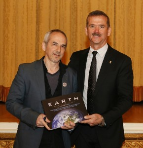Meeting Chris Hadfield at the XL Leadership Summit was truly an honour for the space geek and photographer I am. Photo by Kim Stallknecht